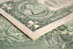 Un dollaro Fotografie Stock Libere da Diritti