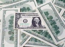 Un dollaro negli Stati Uniti d'America Fotografie Stock