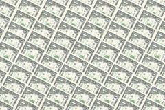 Un dollaro nota il fondo Fotografia Stock
