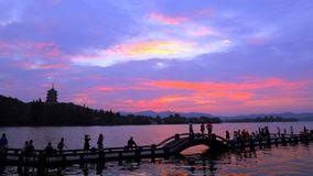 Un du monde - ahem - vues occidentales du lac dix Photos stock