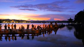 Un du monde - ahem - vues occidentales du lac dix Photographie stock