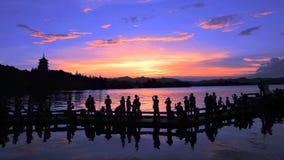Un du monde - ahem - vues occidentales du lac dix Images libres de droits