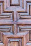 Un edificio de la fachada con las puertas y las ventanas fotografía de archivo libre de regalías