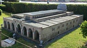 Un edificio de la mezquita Foto de archivo libre de regalías