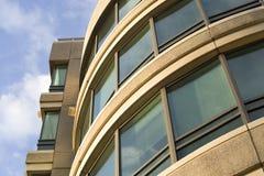 Un edificio de oficinas Fotografía de archivo libre de regalías