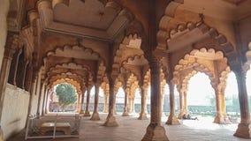 Un edificio en Fatehpur Sikri, Agra, la India imagen de archivo