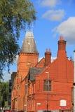 Un edificio en la ciudad de Manchester Fotos de archivo