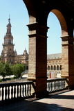 Un edificio español Foto de archivo libre de regalías