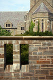 Un edificio gótico (iglesia) Fotografía de archivo libre de regalías