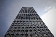 Un edificio modelado vidrio futurista Fotografía de archivo
