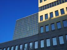 un edificio modernista Imagenes de archivo