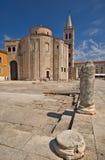 Un edificio monumental a partir del siglo IX Foto de archivo libre de regalías