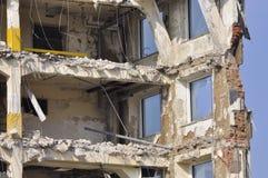 No para vivir - demolición Fotos de archivo