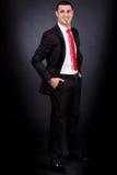 Un ejecutivo empresarial joven Imagen de archivo
