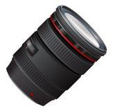 Un ejemplo de la lente de la foto Foto de archivo
