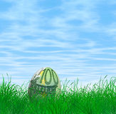 Huevo de Pascua del euro 100 Fotografía de archivo