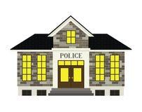 Comisaría de policías libre illustration