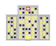 Hospital ilustración del vector