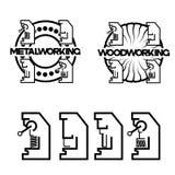 un ejemplo que consiste en una imagen del molino de cara stock de ilustración