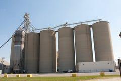 Un elevatore di granulo Immagini Stock