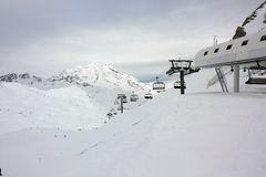 Un elevatore Marmmotes, `Isere di Val d Immagini Stock