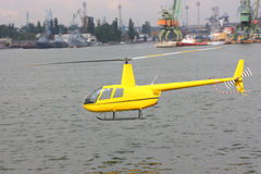 Un elicottero Immagini Stock