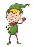 Un elve illustration de vecteur