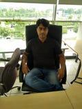 Un empleado de la empresa de IT Fotografía de archivo