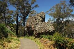 Un endroit appelé la roche accrochante image stock