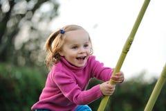 Un enfant heureux Image stock