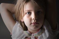 Un enfant relaxed Photo stock