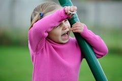 Un enfant triste. Images libres de droits