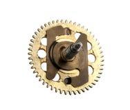 Un engranaje envejecido de un reloj imagen de archivo libre de regalías