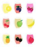 Fruit icons2 Photographie stock libre de droits