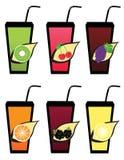 Fruit icons3 Photo stock