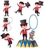 Un ensemble de magicien Character illustration de vecteur