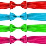 Un ensemble de proues colorées Photographie stock libre de droits