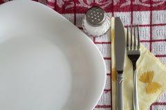 Un ensemble de table Photographie stock libre de droits