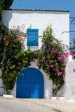 Un'entrata orientale, Tunisia fotografie stock