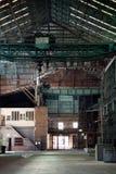 Un entrepôt vide Image stock