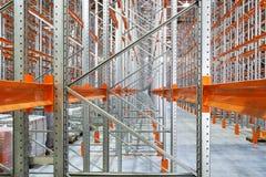 Un entrepôt moderne Photo stock