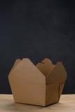 Abra el envase para llevar con vapor Fotos de archivo libres de regalías