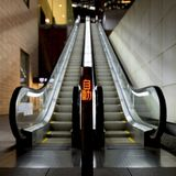 Un escalator au Japon Photographie stock