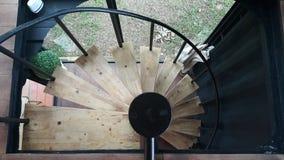 Un escalier circulaire Photographie stock libre de droits