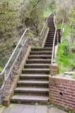 Un escalier menant en haut Photographie stock
