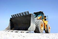 Un escavatore Fotografie Stock