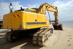 Un escavatore Fotografia Stock