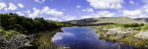 Un'escursione di un giorno in Irlanda Immagine Stock