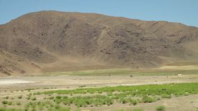 Un espejismo a través de un desierto de la sal, Irán almacen de metraje de vídeo