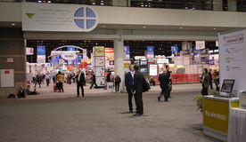 Un'esposizione domestica internazionale del 2011 elettrodomestico Fotografie Stock Libere da Diritti